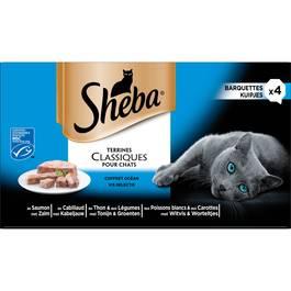 Sheba Terrines pour chat coffret océan