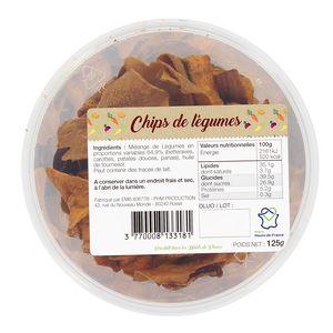 PHM production Chips de légumes