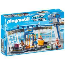 PLAYMOBIL® City Action Aéroport avec tour de contrôle