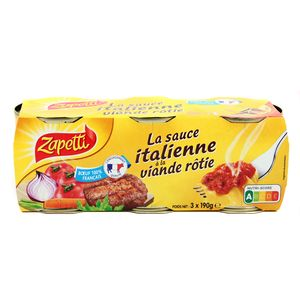 Zapetti Sauce italienne à la viande rotie