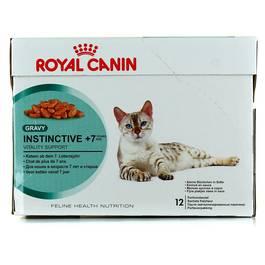 Royal Canin Bouchées en sauce pour chat INSTINCTIVE +7