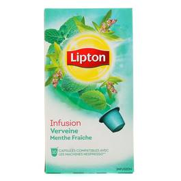 Lipton capsules infusion verveine menthe frache 10 capsules - Capsule to by lipton ...