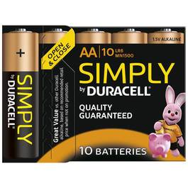 Duracell Piles simply AA