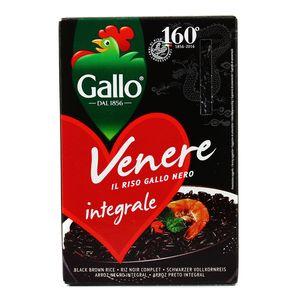 Riz noir vénéré ,RISO GALLO,500g