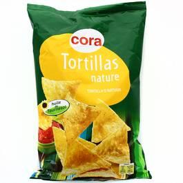 Cora tortilla chips nature 150g