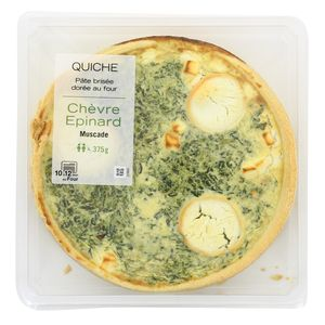 Mix Buffet Quiche Chèvre épinard