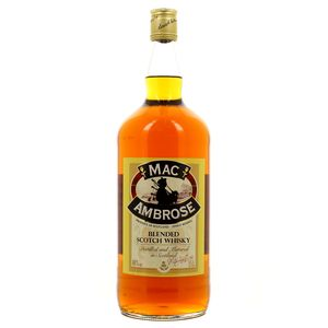 Mac Ambrose Blended scotch whisky 40°