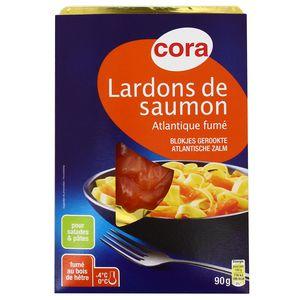 Cora Lardons de saumon fumé
