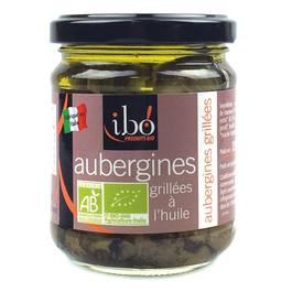 Ibo Aubergines grillées Bio à l'huile