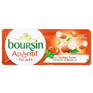 Boursin Apéritif Roulé Jambon Tomate Oignon Ciboulette