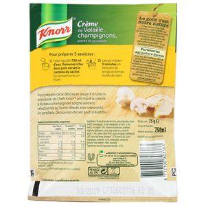 Knorr Crème de volaille, champignons, pointe de persillade