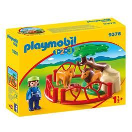 PLAYMOBIL® 1.2.3 Lions avec enclos