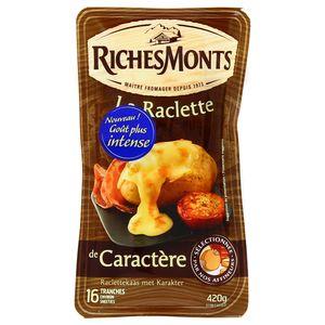 Richesmonts Raclette de Caractère 16 tranches
