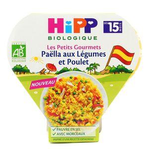 Hipp Paëlla aux Légumes et Poulet