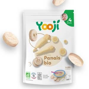 Yooji Purée de Panais Bio surgelés en portions dès 4 mois