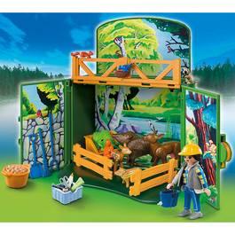 playmobil country coffre enclos des animaux de la ferme transportable 6158. Black Bedroom Furniture Sets. Home Design Ideas