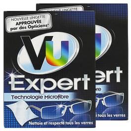 Vu Lingettes Expert pour lunettes, Lot de