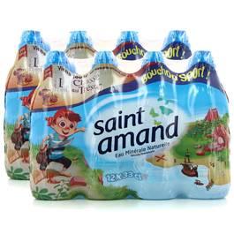 Saint Amand Eau minérale naturelle (bouchons sport)