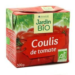 Jardin Bio Coulis de tomate, bio