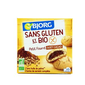 Bjorg Petit fourré goût cacao bio et sans gluten