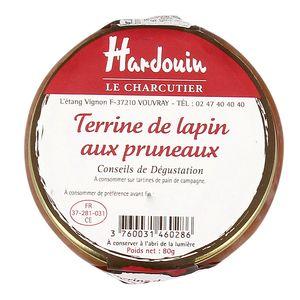 Charcuterie Hardouin Terrine de lapin aux pruneaux