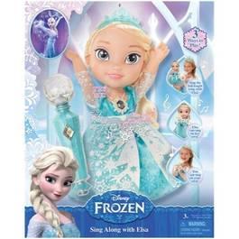 Poupe chante avec elsa reine des neiges - La reine des neige en anglais ...
