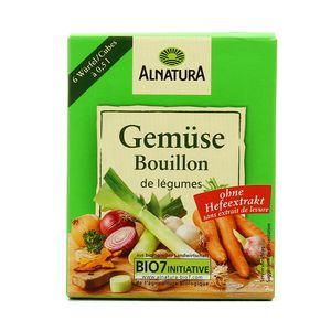 Alnatura Bouillon de légumes bio en cube