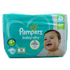 Pampers Babydry Couches T4+ 10/15kg