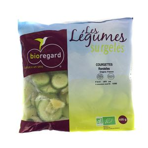 Bioregard Courgettes rondelles Bio