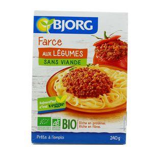 Bjorg Farce aux légumes Bio