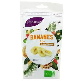 Pronatura Bananes chips bio
