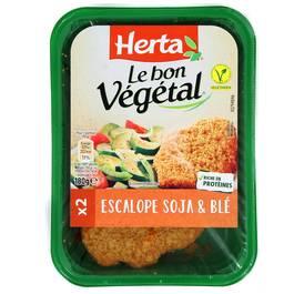 Herta - Le Bon Végétal Spécialitées Végétale Panée à base de Soja & Blé