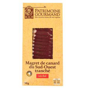 Patrimoine Gourmand Magret de Canard séché, tranché