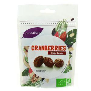 Pronatura Cranberries bio origine Canada