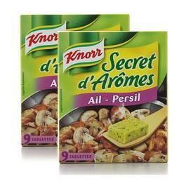 Knorr Secret d'arôme ail et persil