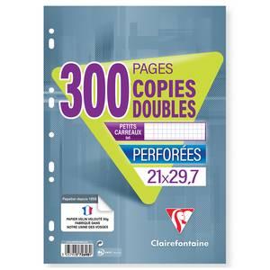 Clairefontaine Copies doubles 21 x 29,7 cm petits carreaux