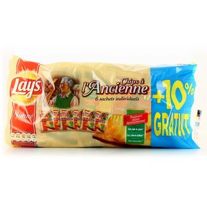 Chips lay's a l'ancienne 6x27.5g