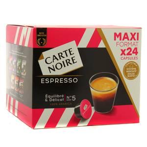 Carte Noire Espresso équilibré et délicat N°5