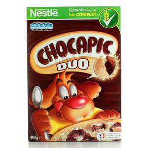 Nestlé Céréales, Chocapic - Céréales Duo, la boite de 400 g