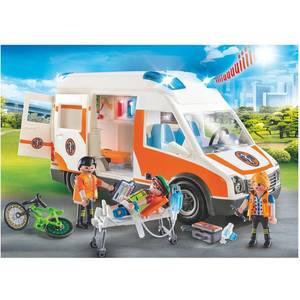 PLAYMOBIL® City Life Ambulance et secouristes