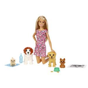 Mattel Coffret barbie et ses chiens