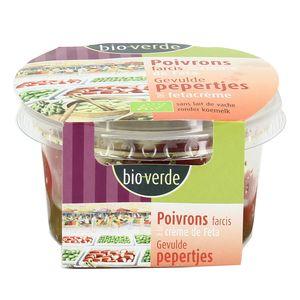 BioVerde Poivrons piquants bio farcis à la crème de Feta