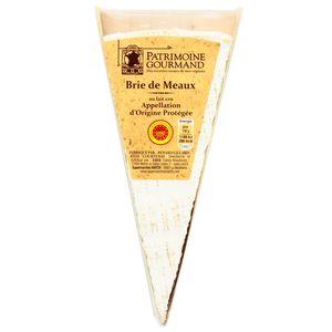 Patrimoine Gourmand Pointe de Brie AOP au lait cru