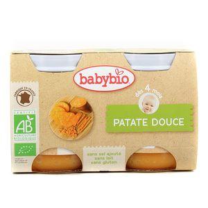 Babybio Patate douce Bio dès 4 mois