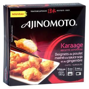 Ajinomoto Karaage- Beignets de poulet mariné à la sauce soja et au gingembre