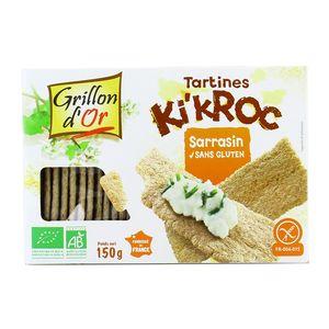 Grillon Or Tartines ki'kroc sarrasin sans gluten bio
