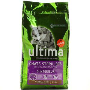 Ultima Affinity Croquette chat stérilisé d'intérieur
