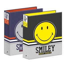 Smiley Classeur rigide dos 40 mm pour feuilles 21 x 29,7 cm