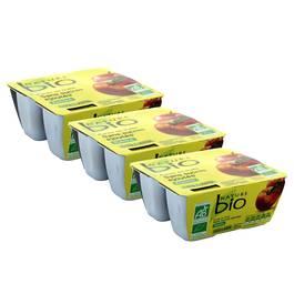 Nature Bio Purée de pomme bio sans sucres ajoutés
