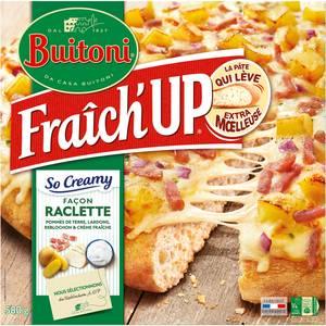 Buitoni Fraich up Pizza So Creamy Façon Raclette- Pommes de terre, Reblochon, Lardons